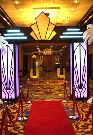 Red carpet entrance rental